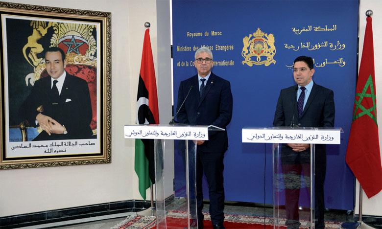 Le ministre libyen de l'Intérieur salue le soutien constant du Maroc à la stabilité de son pays