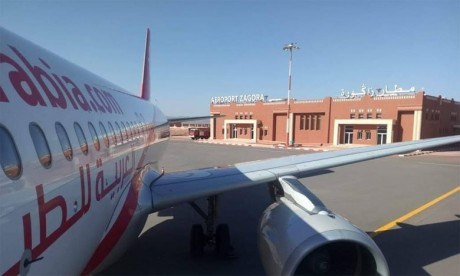 La nouvelle aérogare de l'aéroport de Zagora a été dotée de tous les équipements nécessaires à même de lui permettre d'accueillir 250.000 passagers par an.