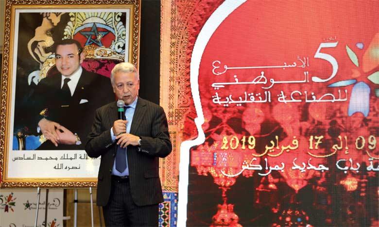 Marrakech abrite la cinquième édition  de la Semaine nationale de l'artisanat