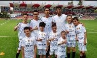 «LaLiga Educa» qui vise à inculquer les valeurs éducatives aux jeunes en situation d'exclusion sociale à travers le football et l'apprentissage de la langue espagnole. Ph : DR