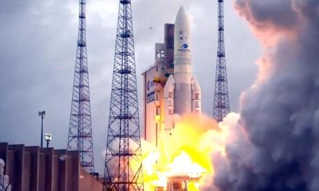 Lancements réussis pour la première Ariane 5 de l'année