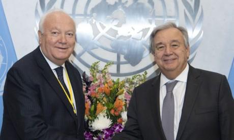Miguel Ángel Moratinos nommé au poste de haut représentant des Nations unies