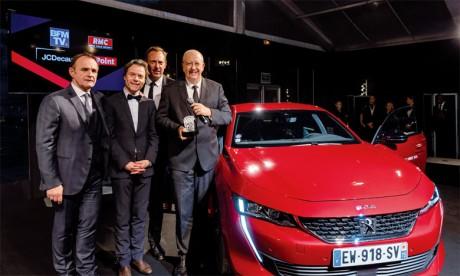 La nouvelle Peugeot 508 élue  «Plus belle voiture de l'année 2018»