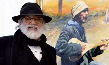 Le peintre Ahmed Ben Yessef à Tétouan