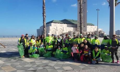 Action Casa est une communauté de citoyens casablancais bénévoles qui souhaitent participer activement et régulièrement à la réhabilitation du civisme et de la qualité de vie à la métropole. Ph : DR