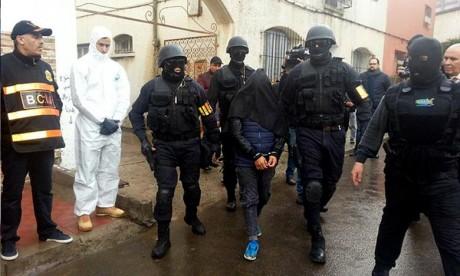 Cinq extrémistes appréhendés à Safi