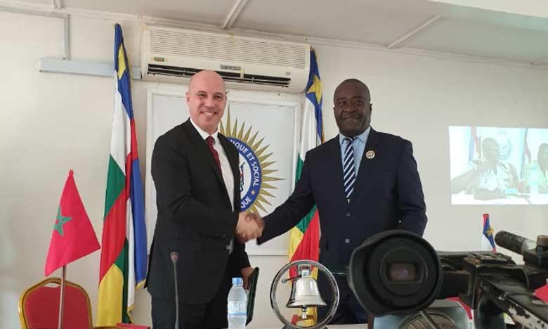 Signature à Bangui d'une convention de partenariat entre le CESE et son homologue centrafricain