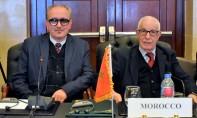 La Constitution marocaine énonce que le Royaume s'engage à respecter les principes du droit international et s'attache aux droits de l'Homme tel qu'ils sont universellement reconnus, a noté Abdelahad Dekkak . Ph : MAP
