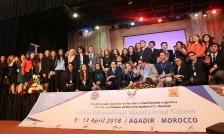 Agadir abrite la 3e conférence du « Sahara International Model United Nations»