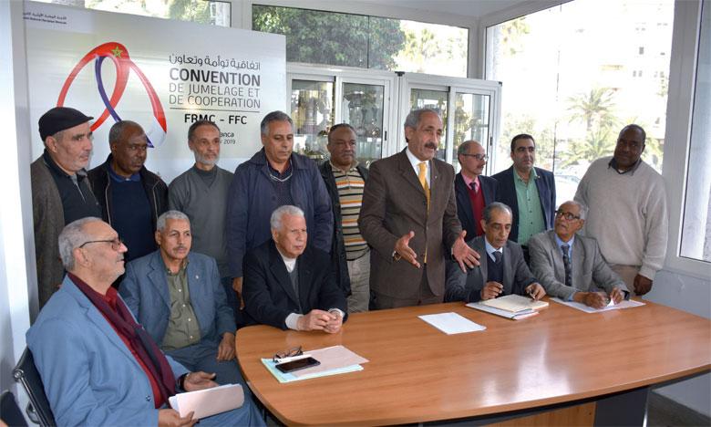 Élection à Casablanca d'un nouveau bureau dirigeant de la Fédération
