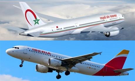 La RAM et Iberia Airlines renforcent leur coopération