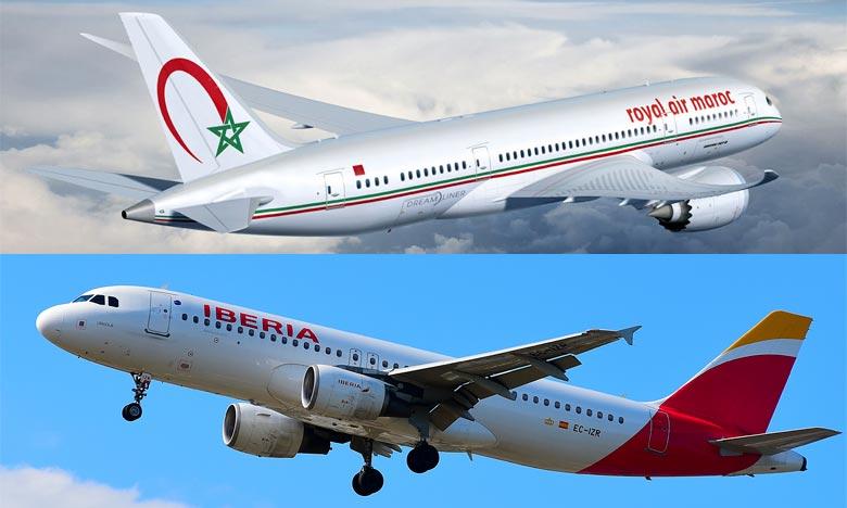 Le mémorandum d'entente vise à renforcer la coopération entre les deux compagnies aériennes RAM et Iberia Airlines à travers l'élargissement de l'accord code-share . Ph : DR
