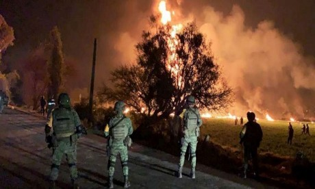 Explosion d'oléoduc au Mexique: le bilan s'alourdit