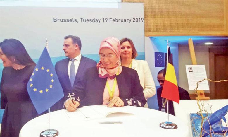 Nezha El Ouafi, secrétaire d'État au Développement durable, a indiqué à Bruxelles que le Maroc dispose de pistes prometteuses en énergies marines renouvelables générées par les vagues côtières. Ph. DR