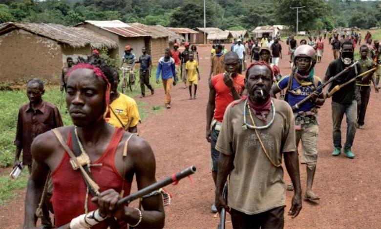 Les groupes armés s'affrontent pour le contrôle des gisements de diamants, d'or et d'uranium.                                                                                                               Ph. DR