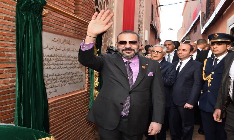 S.M. le Roi inaugure deux projets solidaires destinés à renforcer l'offre médicale au niveau de la médina de Marrakech