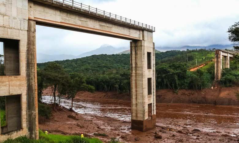Le bilan de la rupture d'un barrage minier