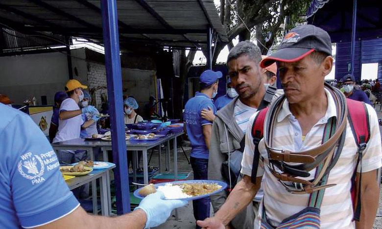 L'entrée de vivres et de médicaments, stockés en Colombie, à la frontière avec le Venezuela, est l'objet depuis plusieurs jours d'un bras de fer entre Nicolas Maduro et Juan Guaido.                                                                                                                                                         Ph. DR