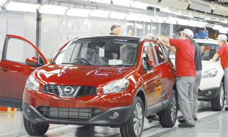 Coup de frein de Nissan en Angleterre