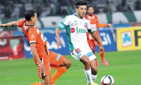 Belle empoignade entre le Raja et la RS Berkane à Rabat