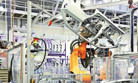 La production industrielle  française baisse de 1,4% en 2018