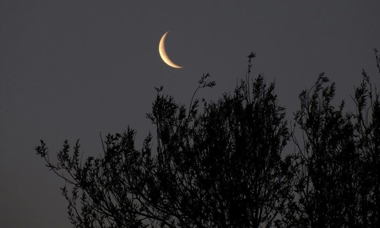 Le ministère des Habous et des Affaires islamiques indique avoir observét que l'apparition du croissant lunaire n'a pas été confirmée, notant que de ce fait le 1er Joumada II correspondra au jeudi 07 février. Ph : DR