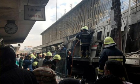 Egypte : Accident mortel en gare du Caire