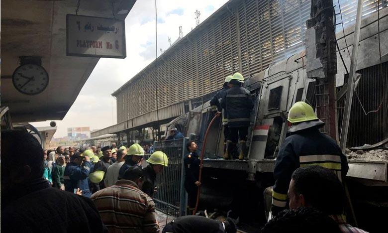 Egypte : Accident mortel en gare du Caire