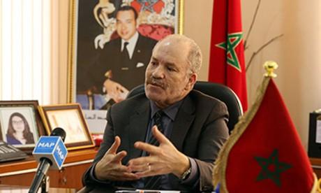 Hassan Sahbi, président de l'Université Moulay Ismaïl.