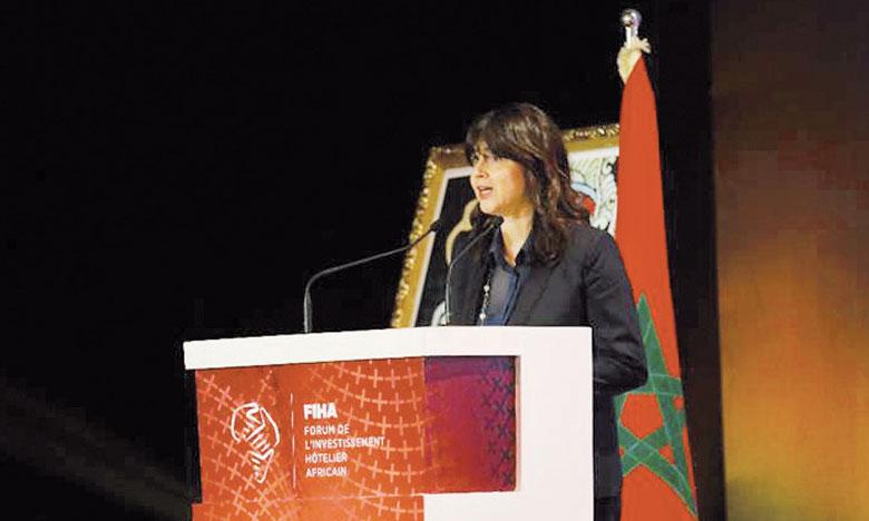 La secrétaire d'État chargé du tourisme, Lamia Boutaleb, a annoncé le 7 février à l'audience, que son département travaille sur un fonds de garantie pour encourager l'investissement dans le secteur. Ph. FIHA