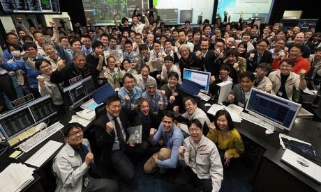 Japon : Rendez-vous maintenu entre Hayabusa2 et un lointain astéroïde