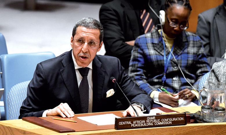 L'ambassadeur Omar Hilale reçu par le Président centrafricain