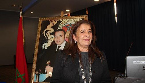 La nouvelle présidente du CRTe la région Tanger-Tétouan-Al-Hoceima, Rkia Alaou, possède une très grande expérience dans le secteur hôtelier. Ph : DR