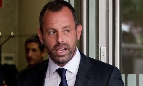 Blanchiment de capitaux :  l'ex-président du Barça en liberté sous contrôle judiciaire