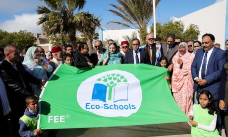 Les écoles labellisées «Pavillon vert» dans la région ont accompli avec succès un parcours en sept étapes sur des thèmes environnementaux comme l'eau, l'énergie et les déchets. Ph : Saouri