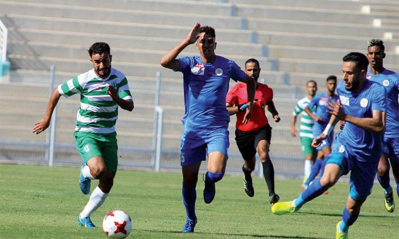 Le Racing de Casablanca et le KAC ont fait match nul 1-1 au match aller.