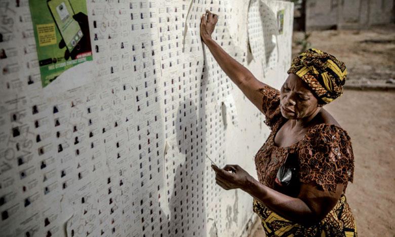 Un nombre record de 23.000 candidats se sont présentés aux différents scrutins.                               Ph. AFP