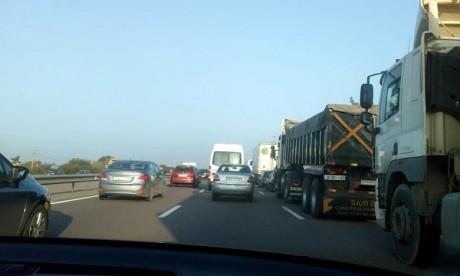 Accidents de la circulation: l'indice de gravité en baisse sur les 5 dernières années