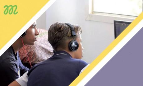 Atelier au profit d'adolescents  à Agadir