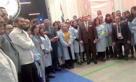 Automobile: Inauguration de l'usine de Varroc Lighting Systems