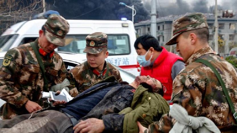 Chine: sept morts suite à une explosion dans une usine