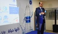 L'unité de production et d'embouteillage d'Aquafina a nécessité un investissement global de 60 millions de DH. Ph. Saouri