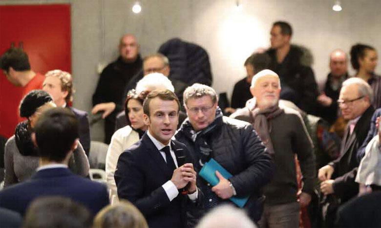M. Macron a appelé l'UE à créer une banque européenne du climat pour financer la transition  écologique.                Ph.DR