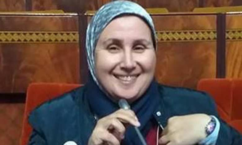 Latifa Cherif, fondatrice et présidente de l'association «Les Amis du ruban rose»