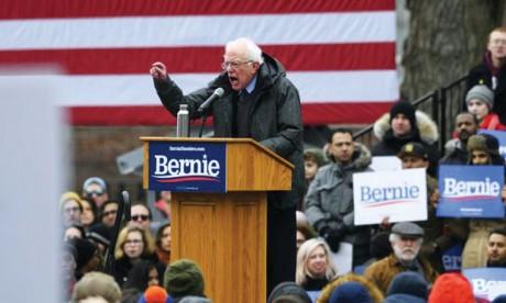 Les Démocrates socialistes en faveur de Bernie Sanders