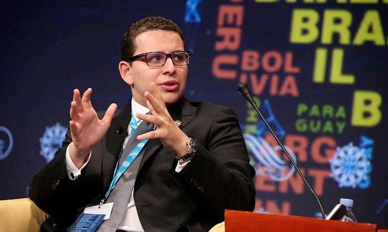 Le président de l'Institut Amadeus, Brahim Fassi Fihri, a relevé que le Royaume du Maroc et l'Afrique maintiennent une relation de longue date et leur coopération politique et économique a atteint un niveau supérieur ces dernières années. Ph : DR