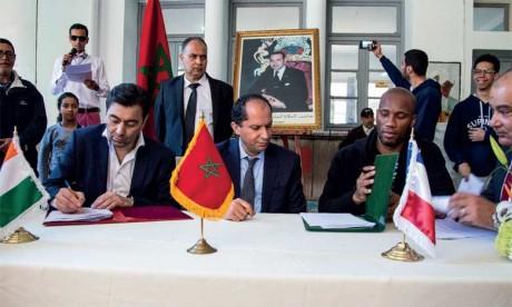 L'AREF signe une convention de partenariat avec Supinfo  et les Fondations Didier Drogba et Ippon