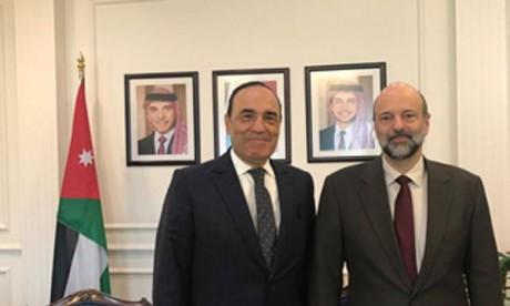 Habib El Malki et le chef de gouvernement jordanien se félicitent des relations distinguées entre les deux pays