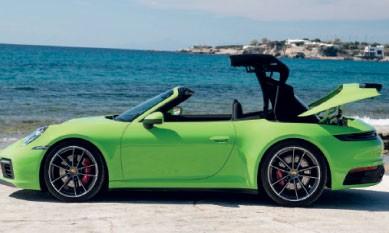 Une capote high-tech pour la nouvelle 911 Carrera Cabriolet