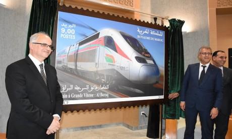 Ce nouveau timbre-poste vient prolonger la longue tradition philatélique initiée par Barid Al-Maghrib dans le cadre de son partenariat historique avec l'ONCF. Ph. Kartouch